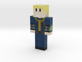 Apatheticbear | Minecraft toy in Natural Full Color Sandstone