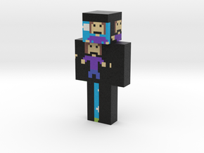 character-pixilart   Minecraft toy in Natural Full Color Sandstone