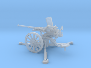 1/48 IJA Type 98 20mm anti-aircraft gun in Smooth Fine Detail Plastic
