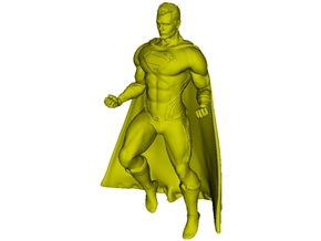 1/72 scale Superman superhero figure A in Smoothest Fine Detail Plastic