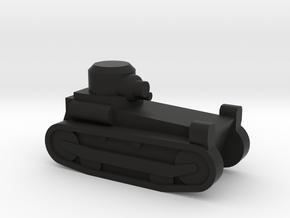 T1E1_M1918 LIGHT TANK in Black Natural Versatile Plastic