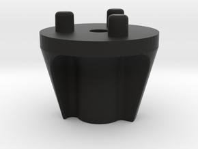 Emek/Etha 2 Bolt Cap - YINYANG in Black Natural Versatile Plastic