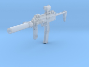 1/12th  MP7tactical4 in Smoothest Fine Detail Plastic