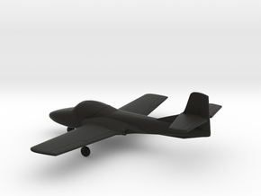 Cessna T-37 Tweet in Black Natural Versatile Plastic: 1:144