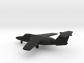Saab Sk-60B in Black Natural Versatile Plastic: 1:144