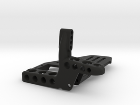 AR60 Front Truss with Tray with Diff on Left Side in Black Natural Versatile Plastic