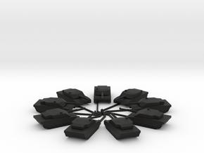 C1 Ariete 1I300 x 9 in Black Natural Versatile Plastic