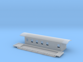 CF4a - Swedish passenger wagon in Smooth Fine Detail Plastic