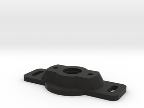 Miata\MX5 Variable TPS Adapter plate in Black Natural Versatile Plastic
