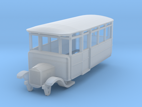 o-148fs-derwent-railway-ford-railcar in Smooth Fine Detail Plastic