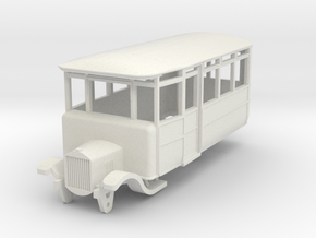 o-87-derwent-railway-ford-railcar in White Natural Versatile Plastic