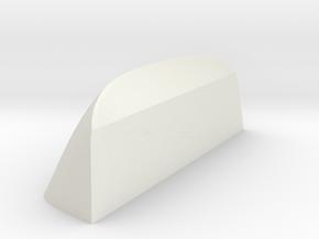 Front-Window-Vacuum-Mold in White Natural Versatile Plastic