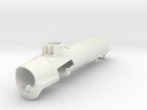 PALS Ready PE Emek Body -FASTBACK 2 in White Natural Versatile Plastic