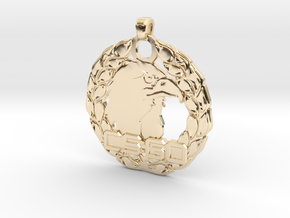 CS:GO Legendary Eagle Pendant in 14K Yellow Gold