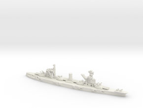 Soviet Gangut-Class Battleship in White Natural Versatile Plastic