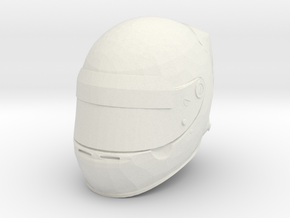 Helmet F1 - 1/4 in White Natural Versatile Plastic