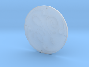 "'GE' Emblem for 2.5"" Scale Center Cab Diesels in Smooth Fine Detail Plastic"