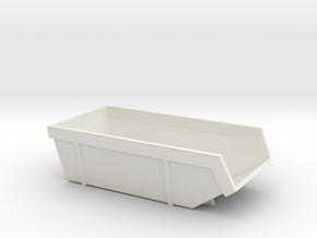 Scale Bash Course DIO Garbage Skip in White Natural Versatile Plastic