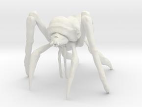 Bulb Bug in White Natural Versatile Plastic