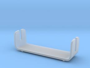Modern Comb Stand - Offset / Bath Accessories in Smooth Fine Detail Plastic