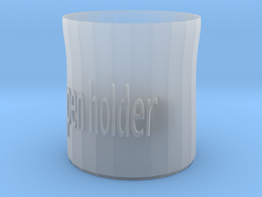 pen holder in Smooth Fine Detail Plastic