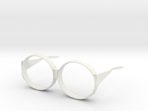 glasses frames in White Natural Versatile Plastic