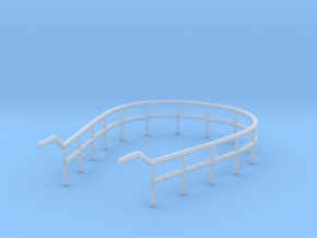1/72 U-Boot U-441 Railing 3 for Conning Tower in Smooth Fine Detail Plastic
