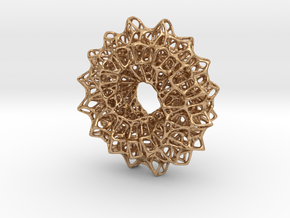 Möbius Net in Natural Bronze