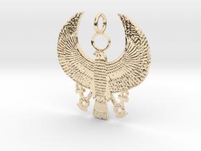 Horus Falcon (2') in 14K Yellow Gold