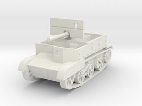 Universal Carrier 2pdr Canadian 1:87 in White Natural Versatile Plastic