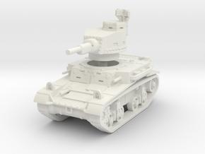 M2A4 tank scale 1/87 in White Natural Versatile Plastic