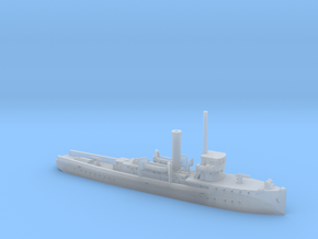 1/700th scale polish gunboat General Galler in Smooth Fine Detail Plastic