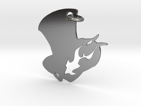 Phantom Thieves Pendant in Polished Silver (Interlocking Parts)