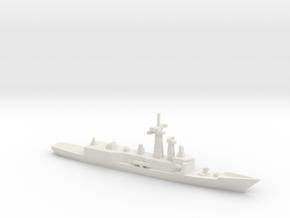 Adelaide-class frigate, 1/1800 in White Natural Versatile Plastic