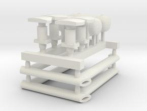 3D Accesories GOSA in White Natural Versatile Plastic