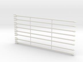 LG-LR1750 TIE BARS in White Natural Versatile Plastic
