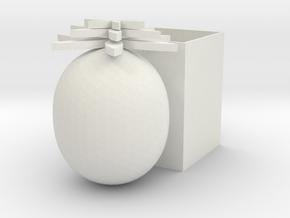pineapple pen holder in White Natural Versatile Plastic