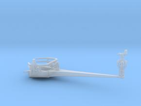 1/200 IJNYamatoAntenna Yard Arm Starboard in Smooth Fine Detail Plastic