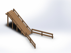 LIVESTOCK RAMP in White Natural Versatile Plastic