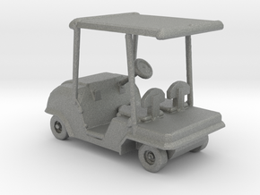 HO Scale Golf Cart  in Gray PA12
