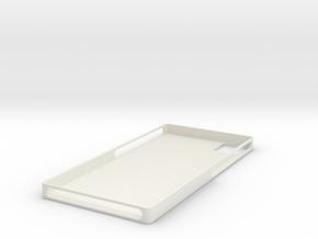 phone case  in White Natural Versatile Plastic