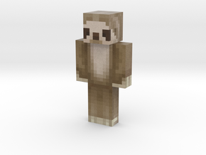 TheLoveMachine   Minecraft toy in Natural Full Color Sandstone