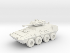 15mm M81A3 Stuart IFV in White Natural Versatile Plastic