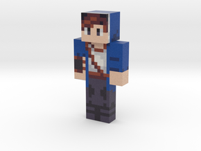 hexablu   Minecraft toy in Natural Full Color Sandstone