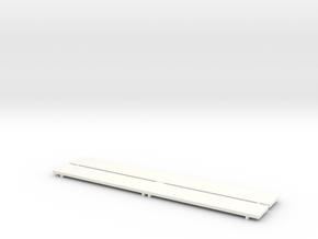 Part D Dressing room stool (for 1:10/1:12 figure)  in White Processed Versatile Plastic