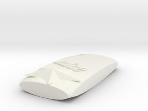 phonecase in White Natural Versatile Plastic
