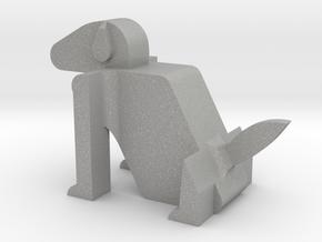 Dog in Aluminum