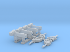 1:24 Fuel pumps pack of four. in Smooth Fine Detail Plastic