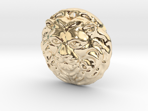 lionm in 14k Gold Plated Brass