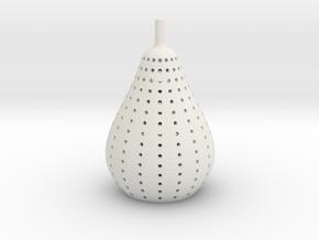 pear lamp in White Natural Versatile Plastic